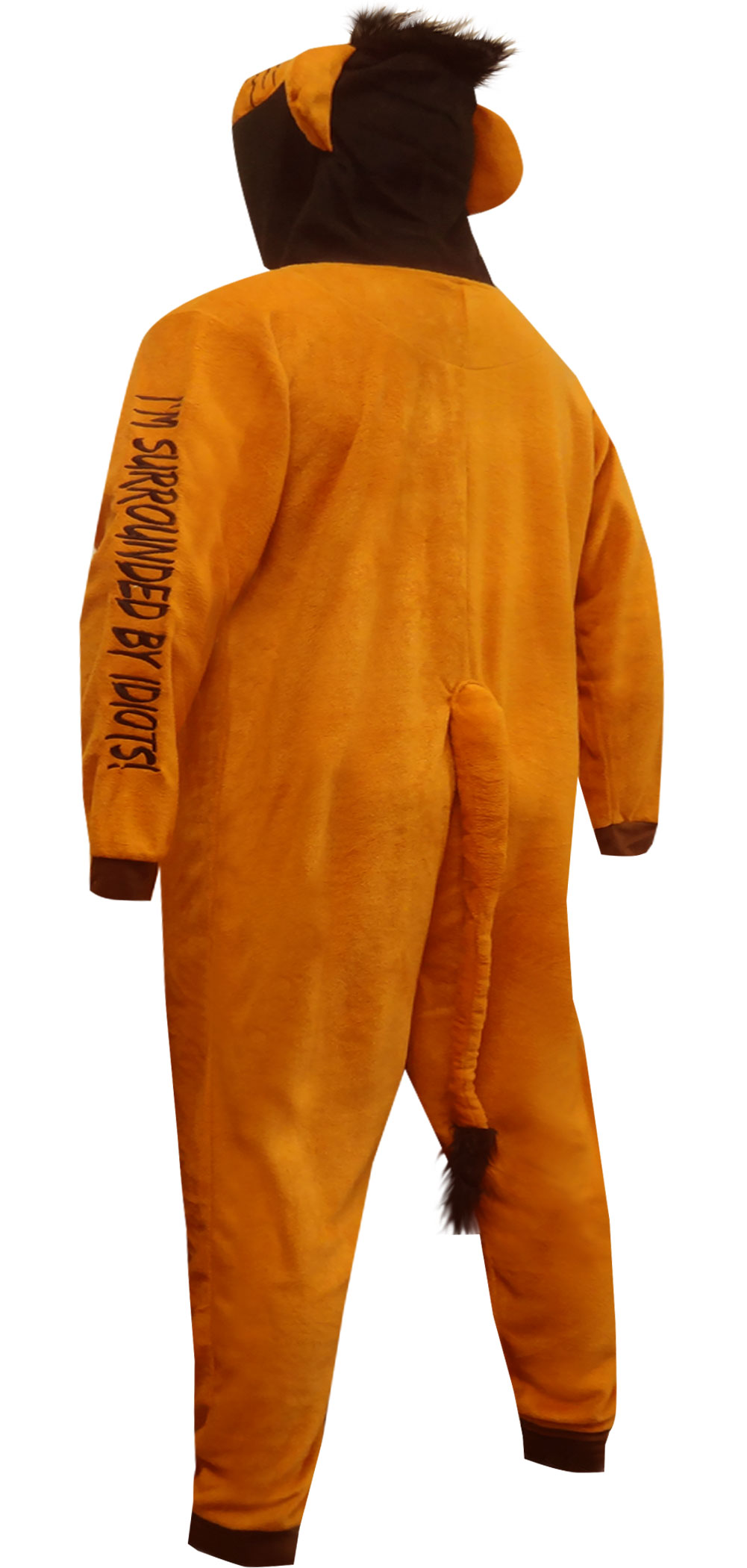 6137de008 WebUndies.com Lion King Scar the Villain Onesie Pajama