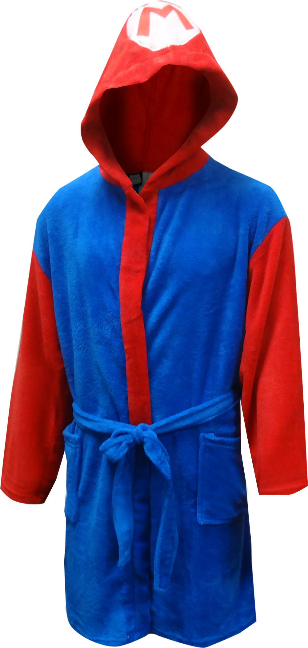 Image of Nintendo Super Mario Plush Adult Robe for men
