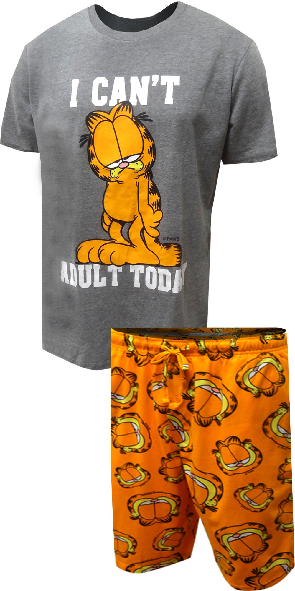 Image of Garfield I Can't Adult Today Pajama for men