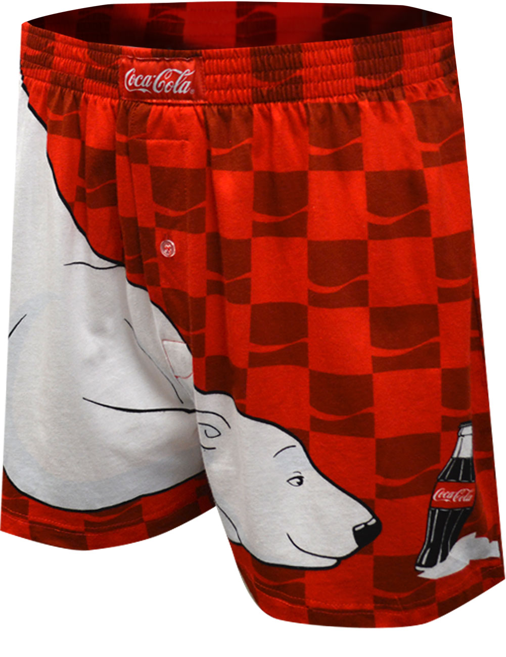 Image of Coca Cola Bear Always Cool Boxer Shorts for men