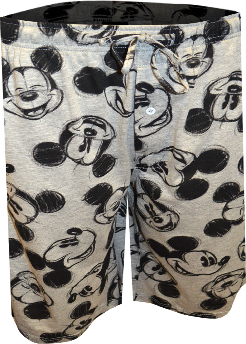 Image of Disney's Mickey Mouse Sketch Lounge Shorts for men
