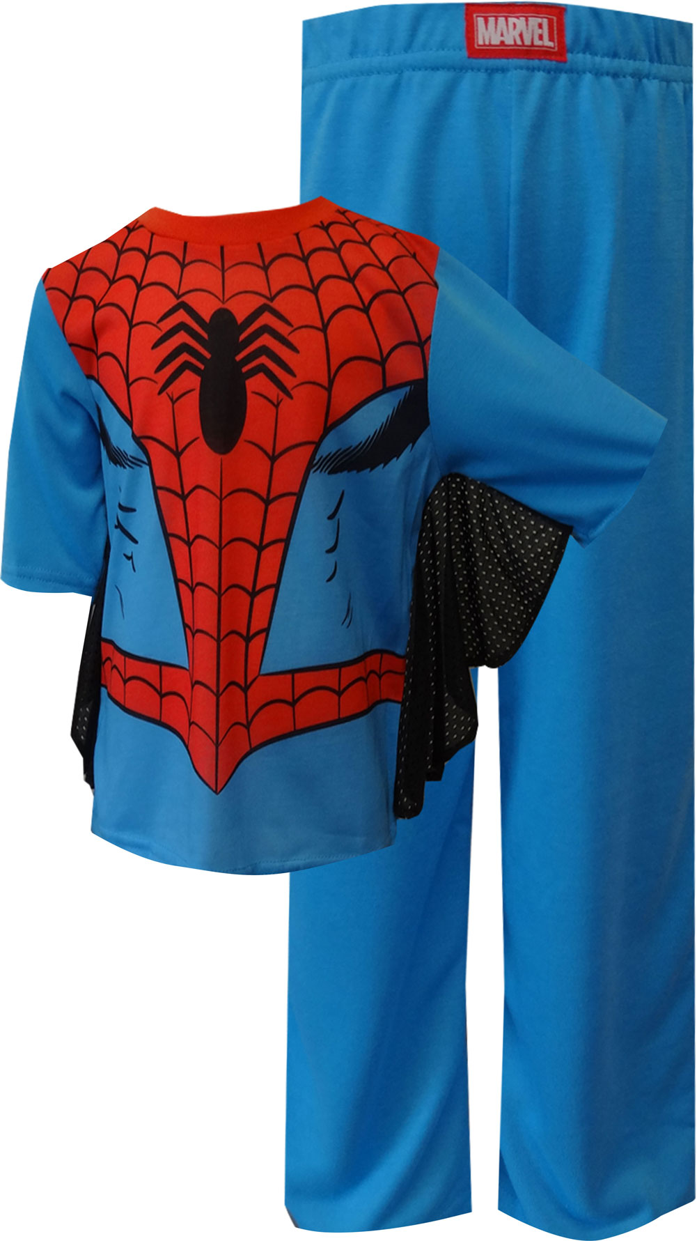 Spiderman Dress Like Spidey Toddler Pajamas With Webbed Sleeves for boys