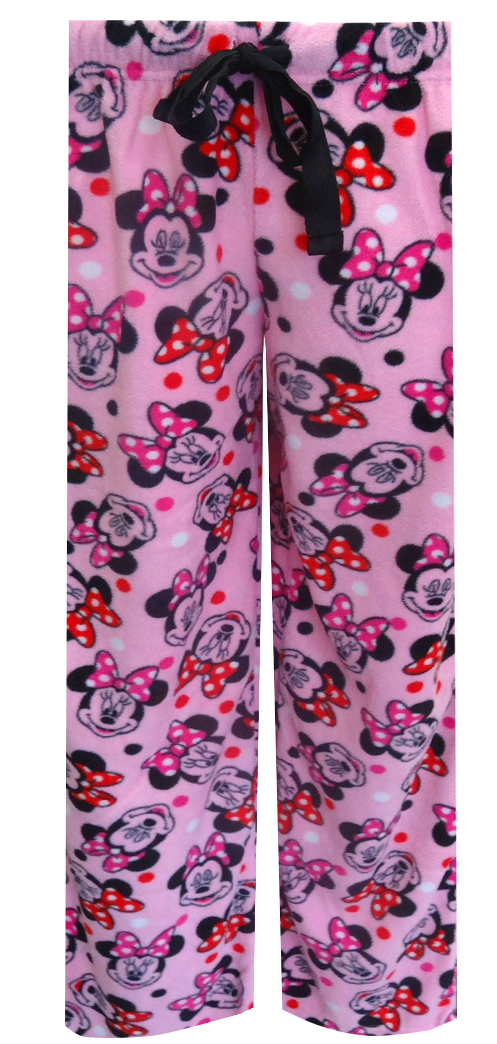 Image of Disney's Minnie Mouse Pink Fleece Loungepant for women