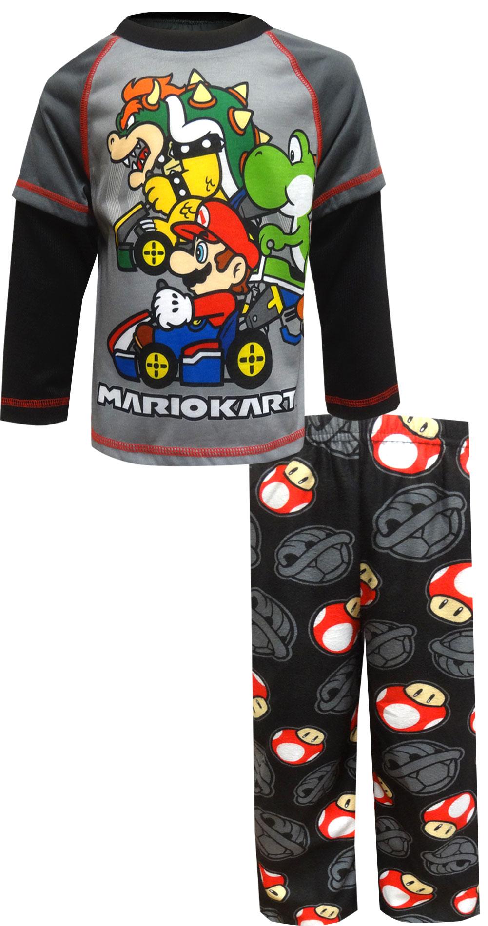 Image of MARIOKART At the Starting Line Pajamas for boys