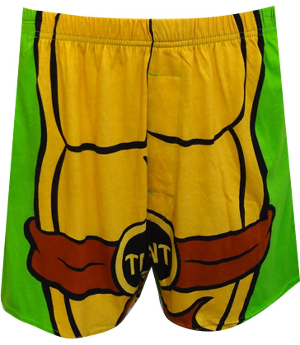 Teenage Mutant Ninja Turtle Boxer Shorts With Cape for men
