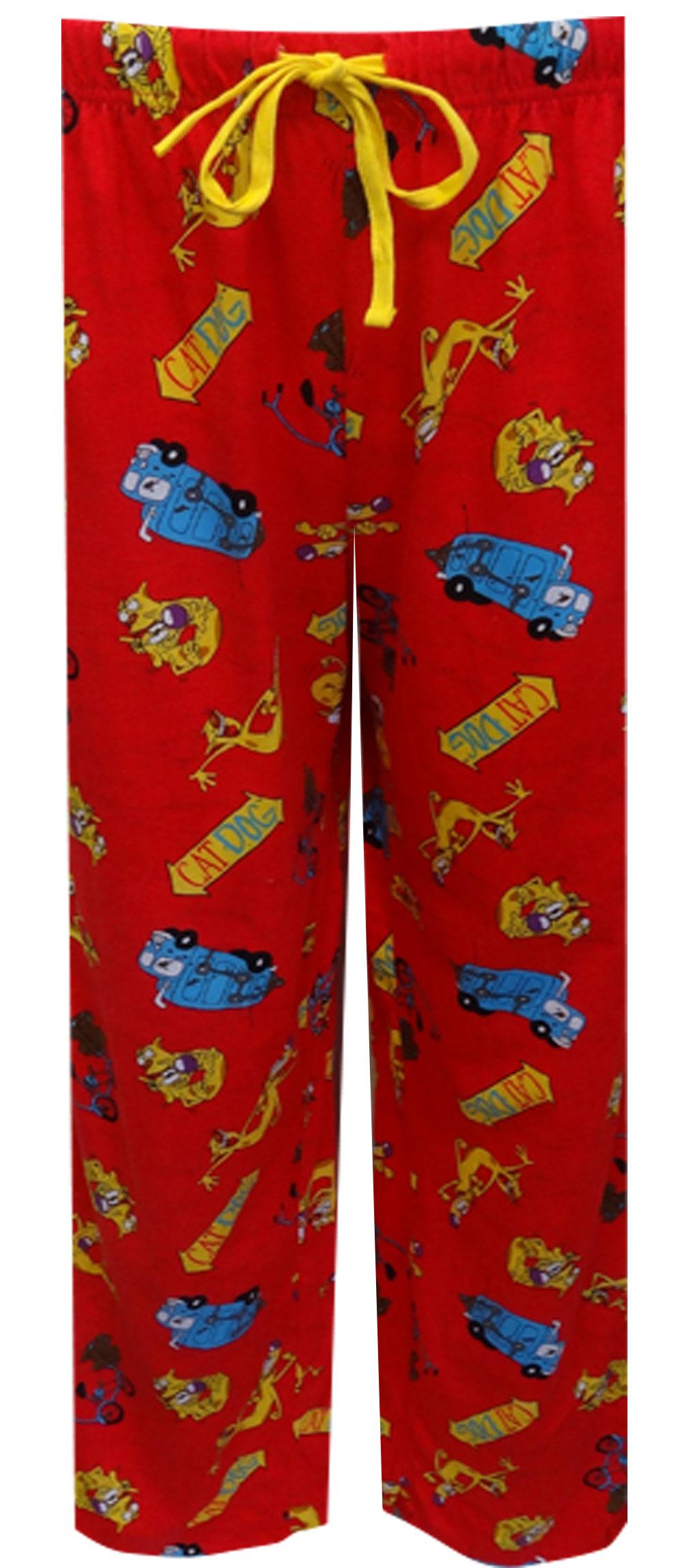 Nickelodeon Rewind CatDog Red Lounge Pants for men