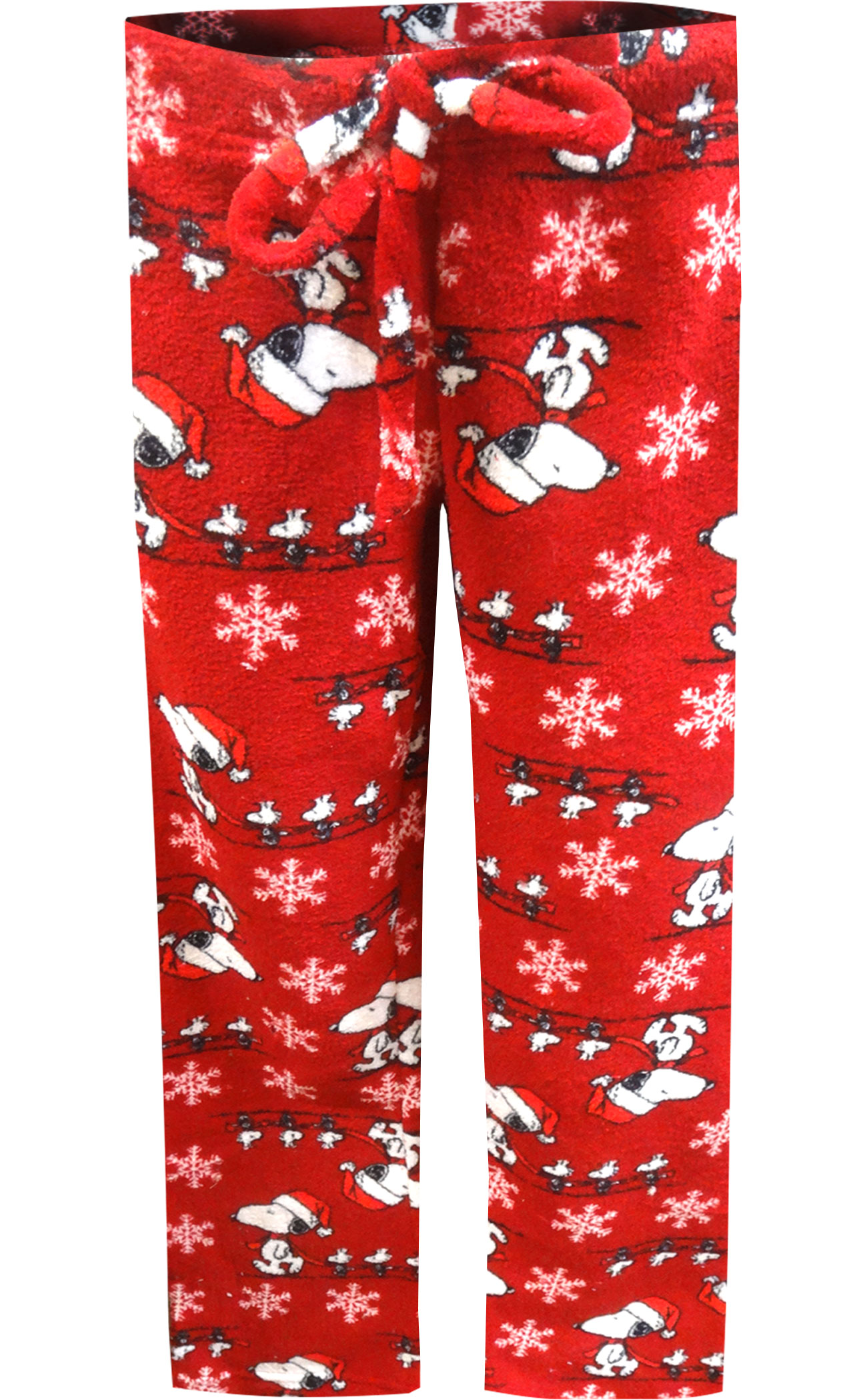 Image of Festive Peanuts Snoopy Christmas Lounge Pants for Women