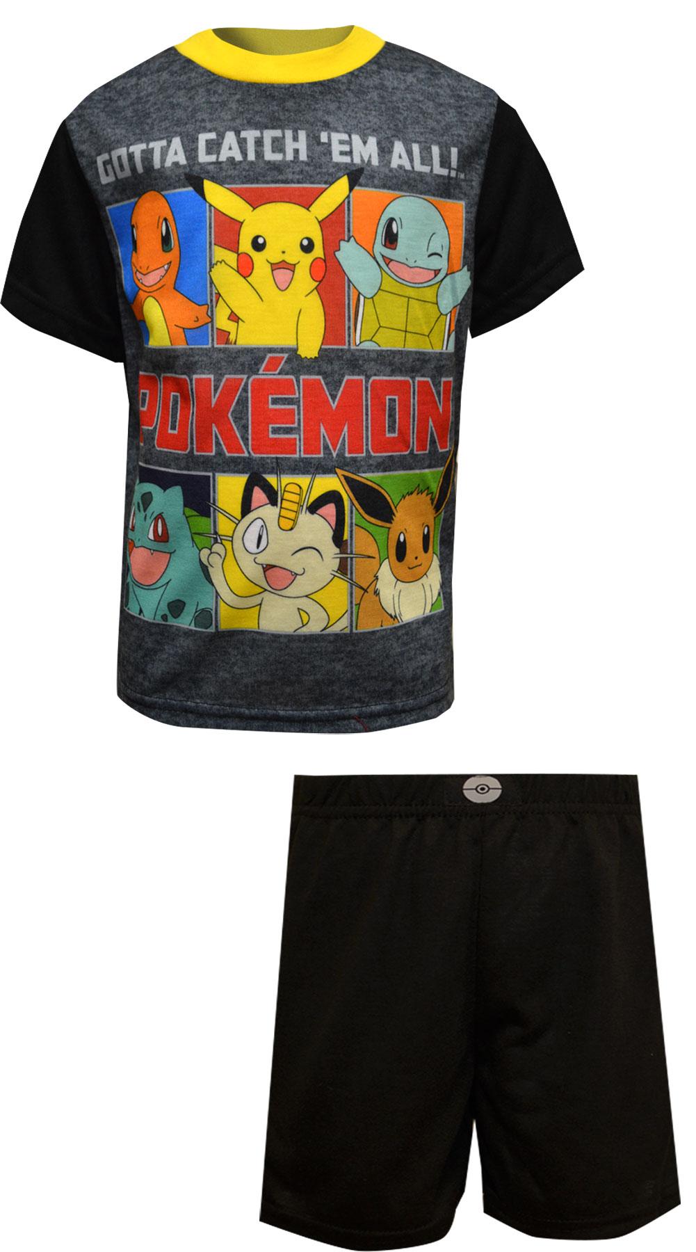Image of Pokemon Gotta Catch Em All Pajamas for boys