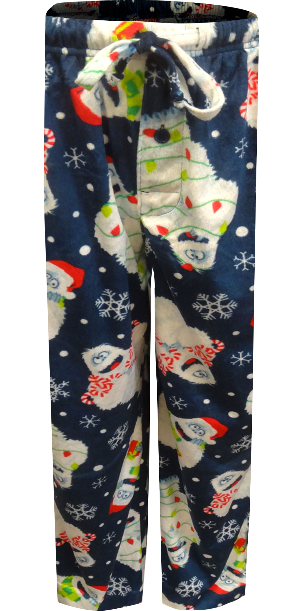 Image of Rudolph The Red-Nosed Reindeer Bumble In Lights Lounge Pants for men