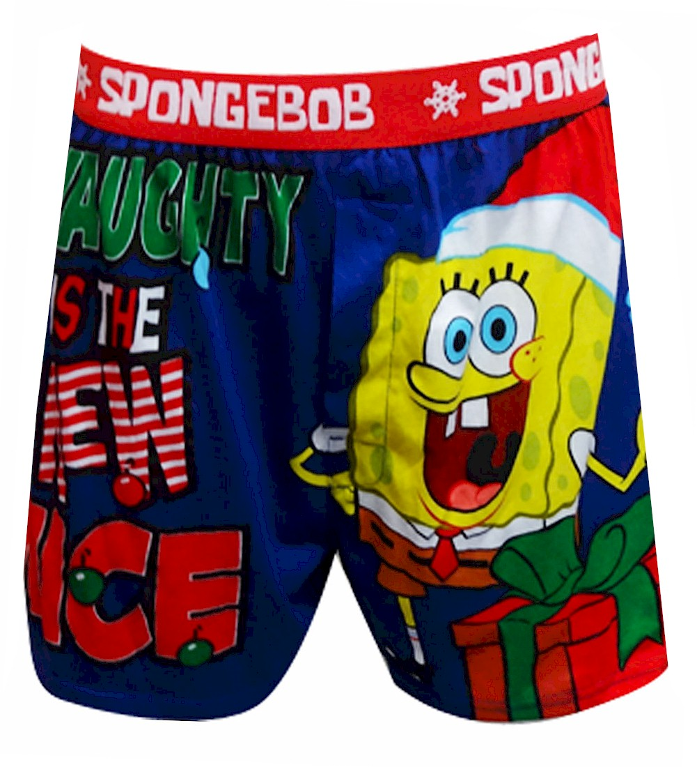 SpongeBob Naughty Is The New Nice Boxer Shorts for men
