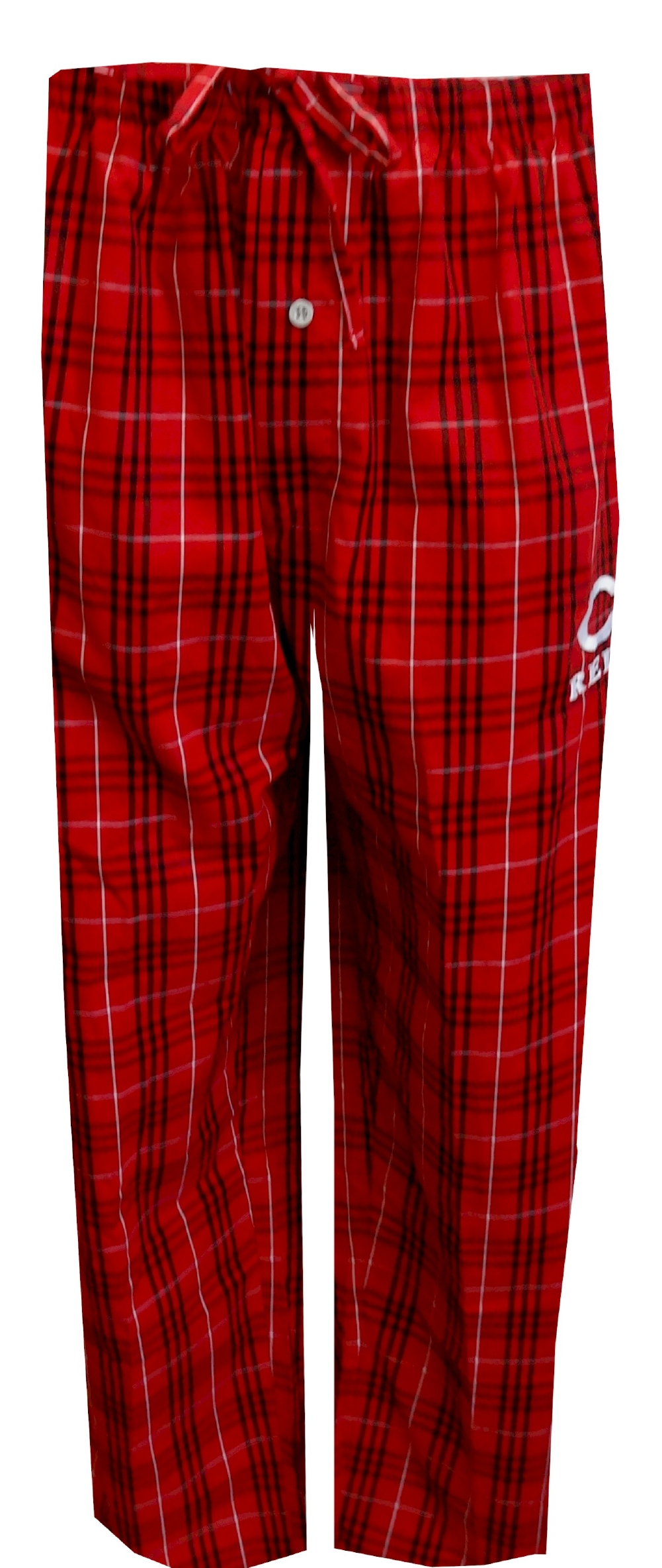 MLB Cincinnati Reds Logo Woven Plaid Lounge Pants for men