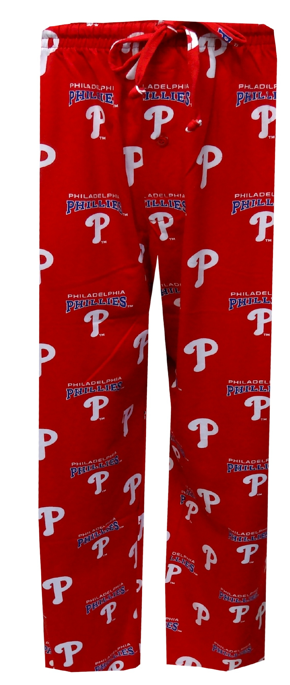 Philadelphia Phillies All-Over Logo Red Lounge Pants for men