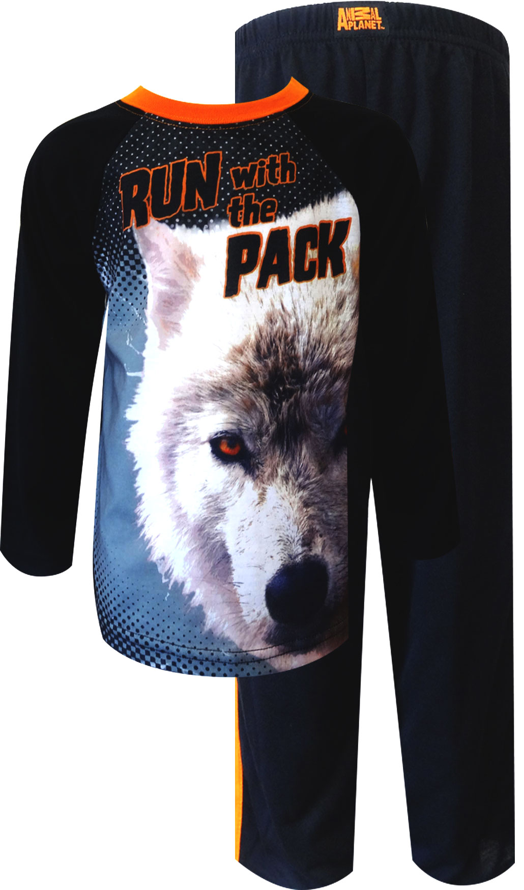 Image of Animal Planet Wolf Pack Toddler Pajama for boys