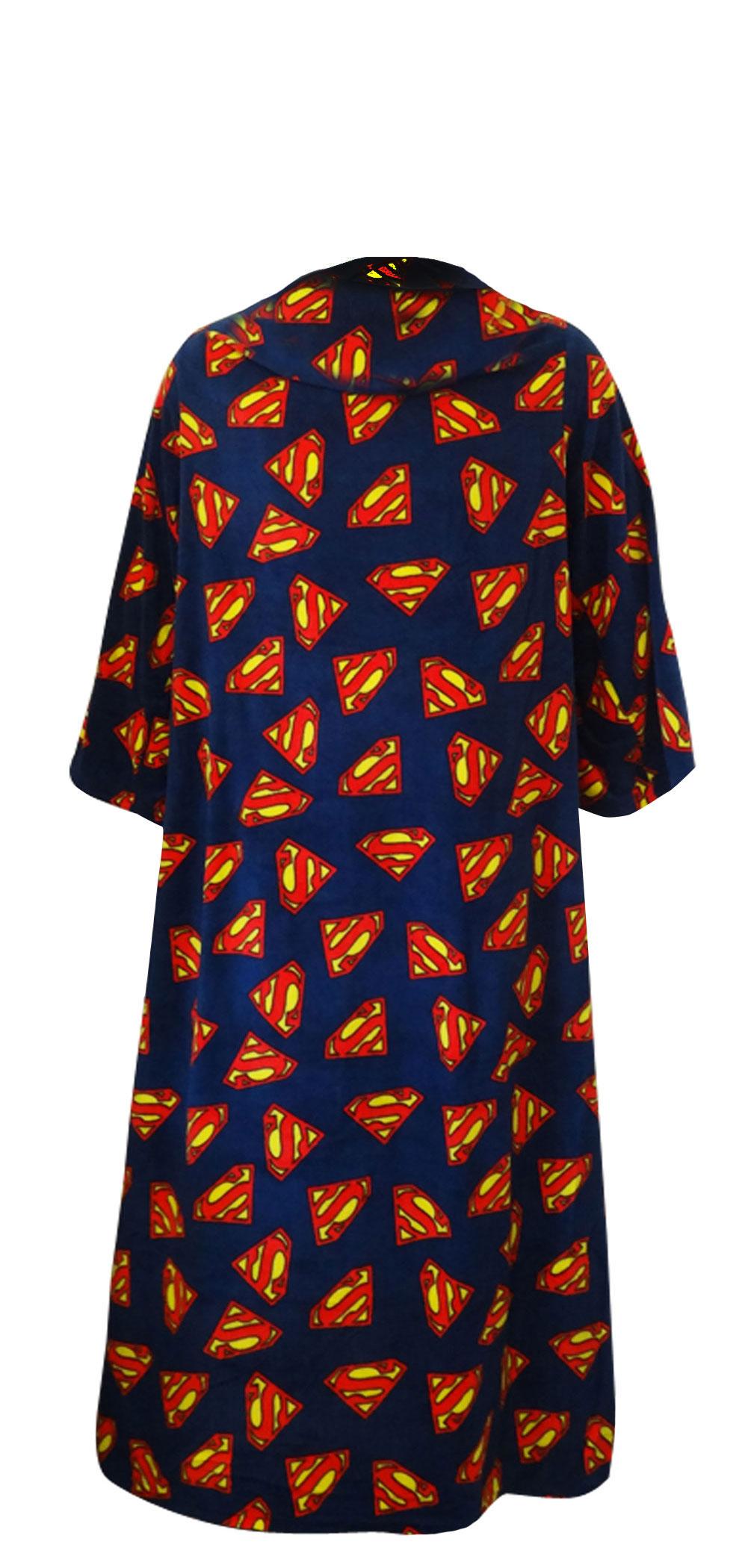 Superman Logo Snugglie Robe for men