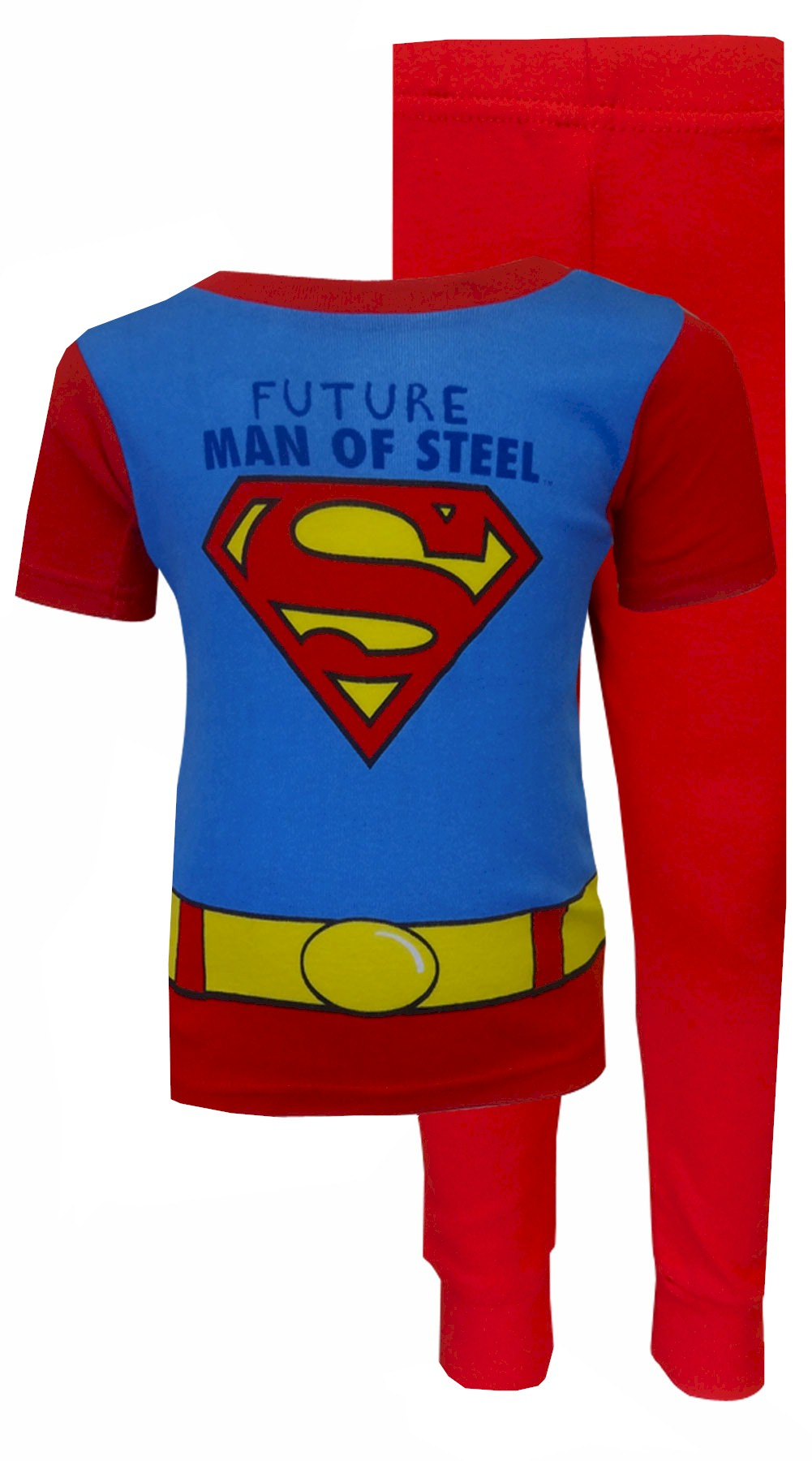 Superman Man Of Steel Pajama Set for Toddlers