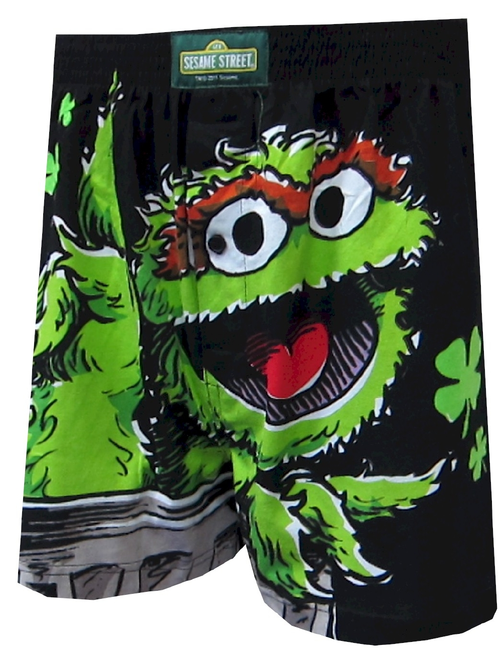 Sesame Street Oscar The Grouch Boxer Shorts for Men