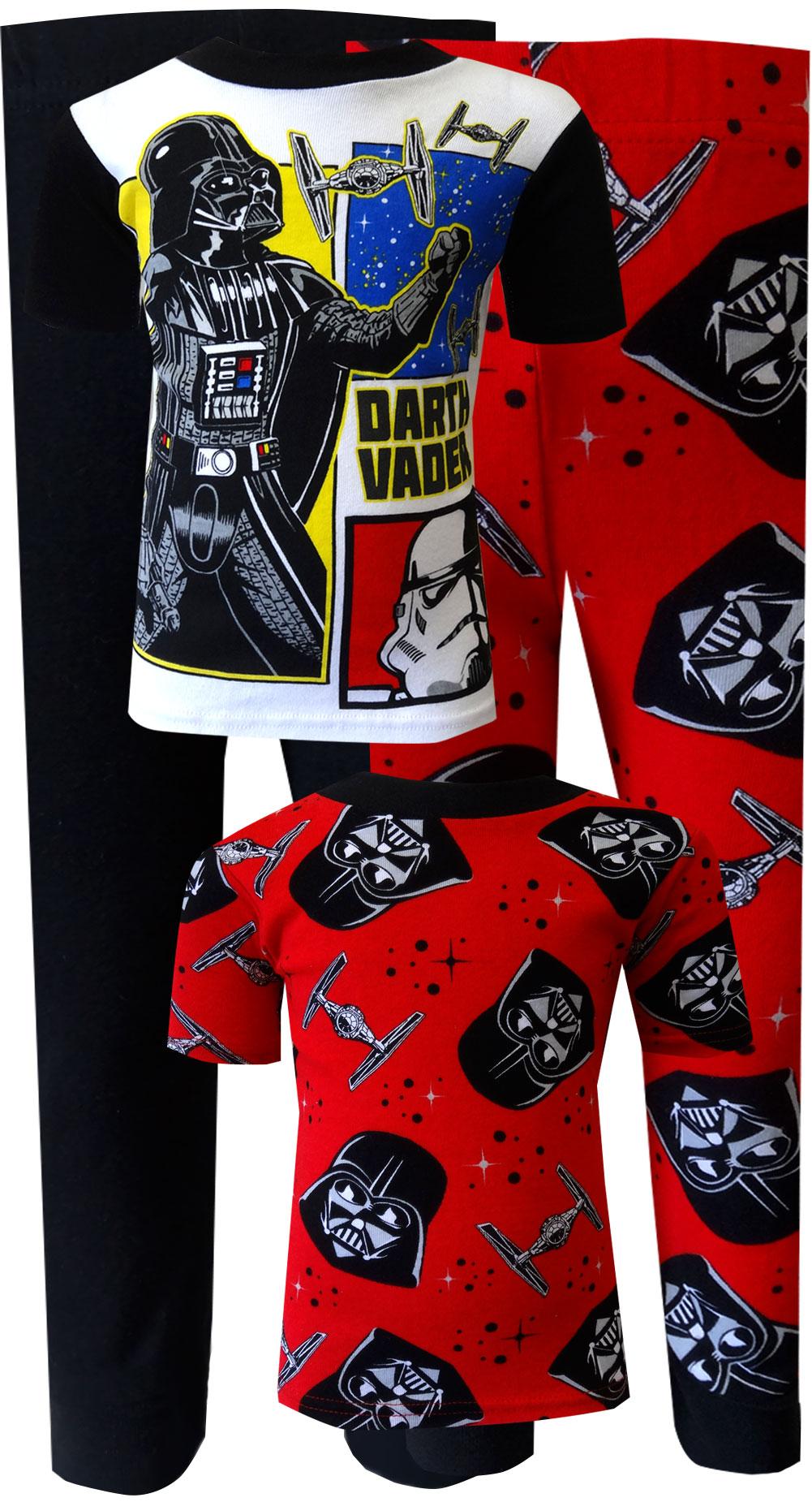 Image of Star Wars Darth Vader 4 Piece Cotton Pajama for boys