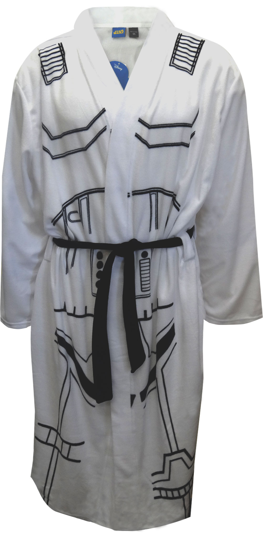 Image of Star Wars Storm Trooper Fleece Robe for men