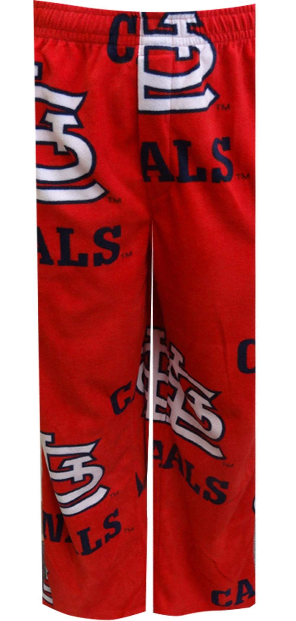 Saint Louis Cardinals Guys Red Fleece Lounge Pant for men