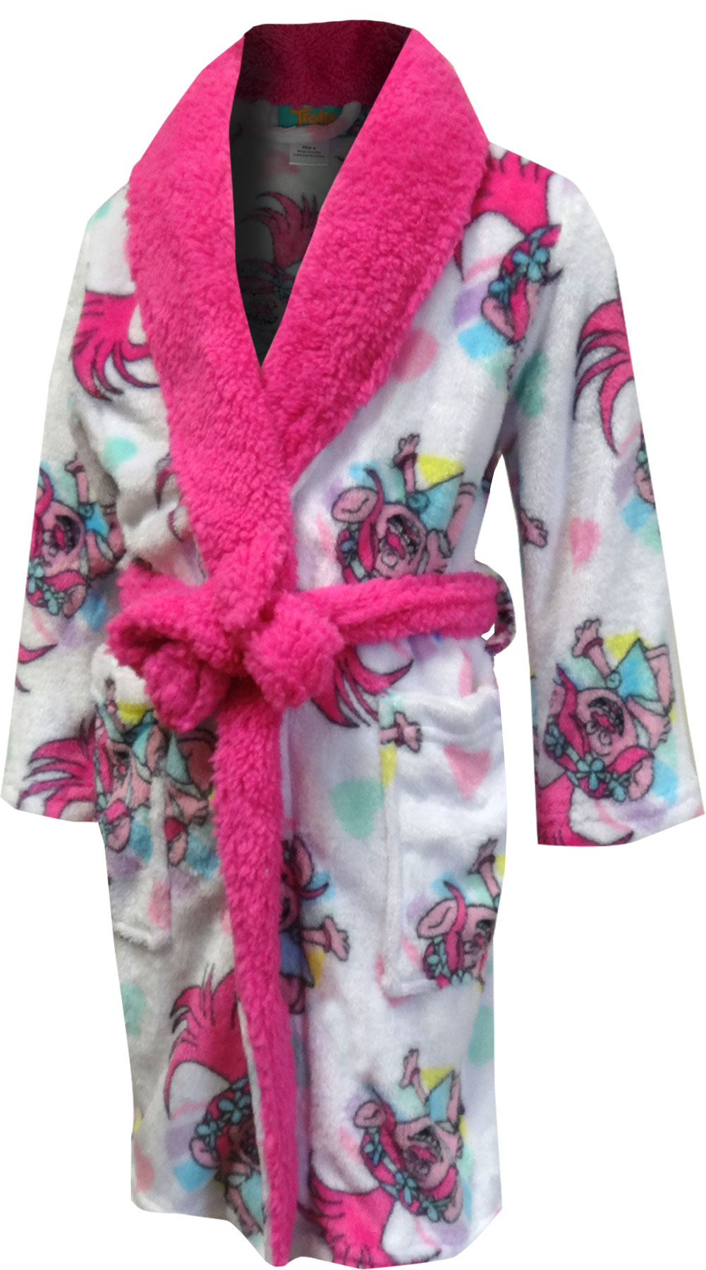 Image of Trolls Movie Princess Poppy Fleece Robe for girls