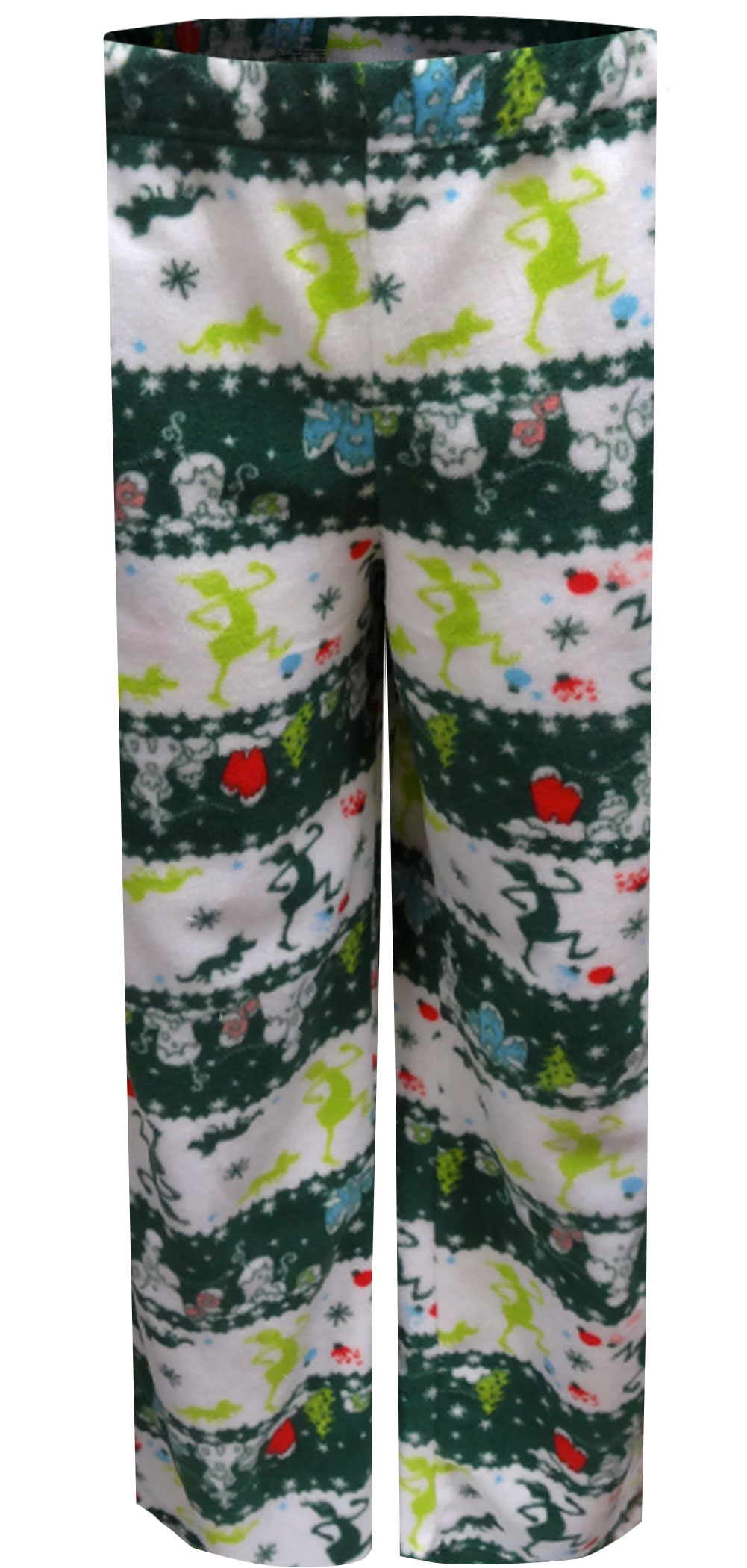 Image of The Grinch Coming To Town Fair Isle Adult Lounge Pants for men