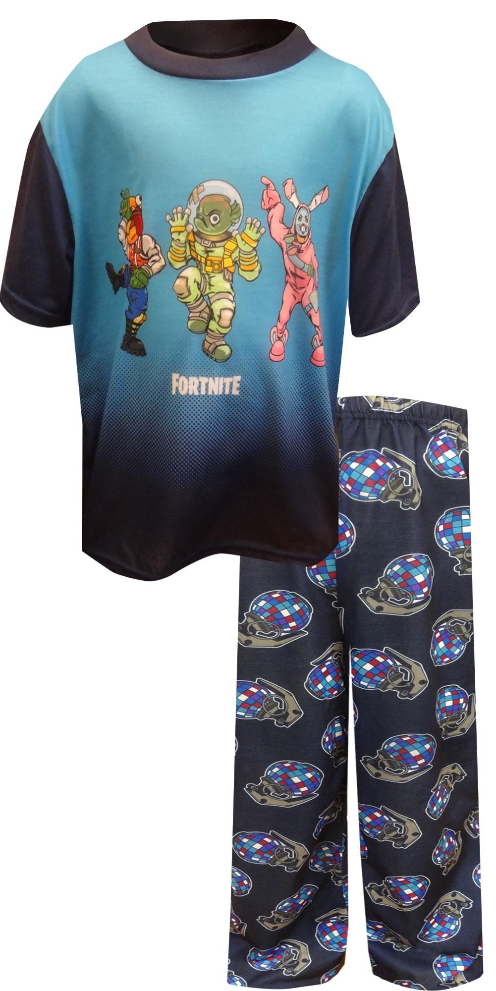 Image of Fortnite Victory Dance Short Sleeve Pajamas for boys