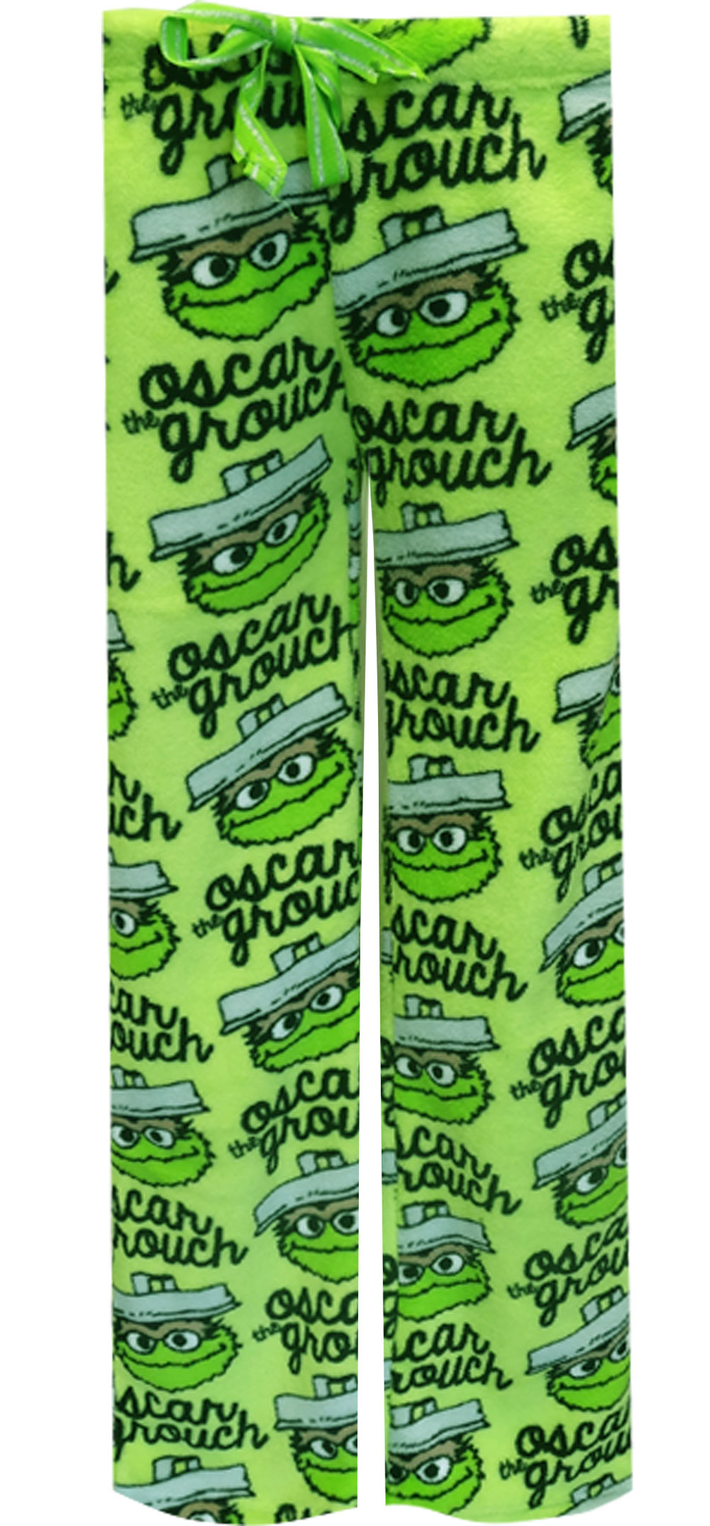 Sesame Street Oscar the Grouch Plush Lounge Pants for women