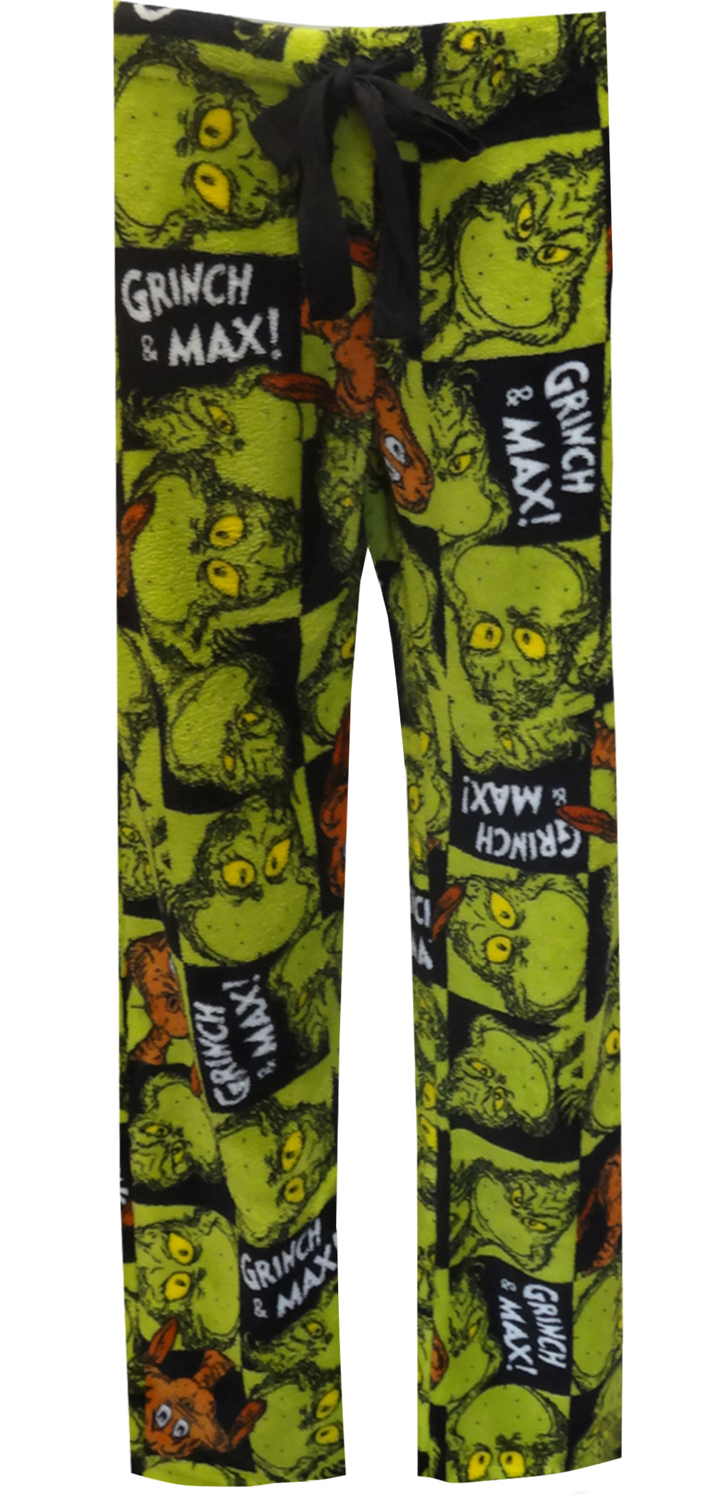 Dr. Seuss The Grinch And Max Plush Lounge Pants for women