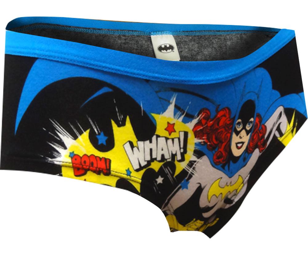 Image of Batgirl In Action Black Panty for women