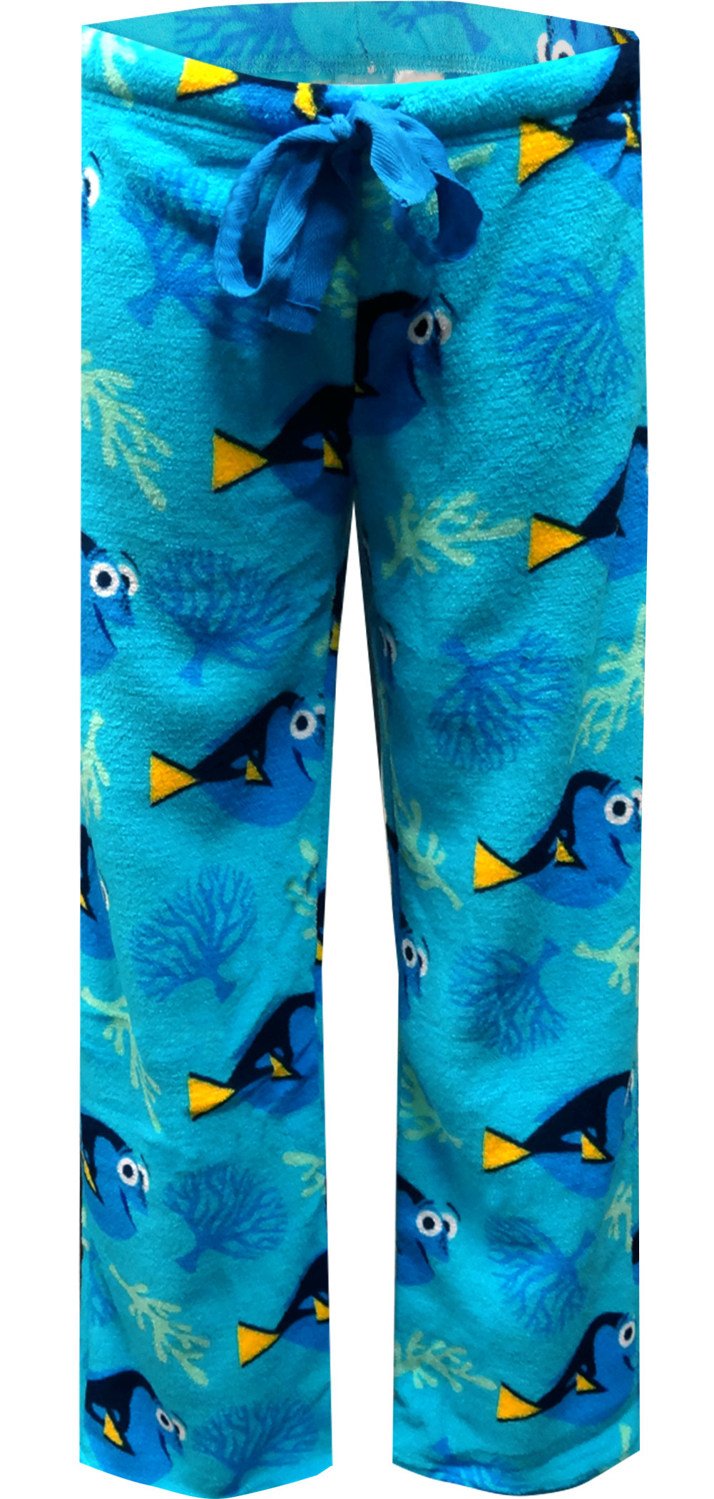 Image of Finding Dory Ladies Plush Lounge Pants for women
