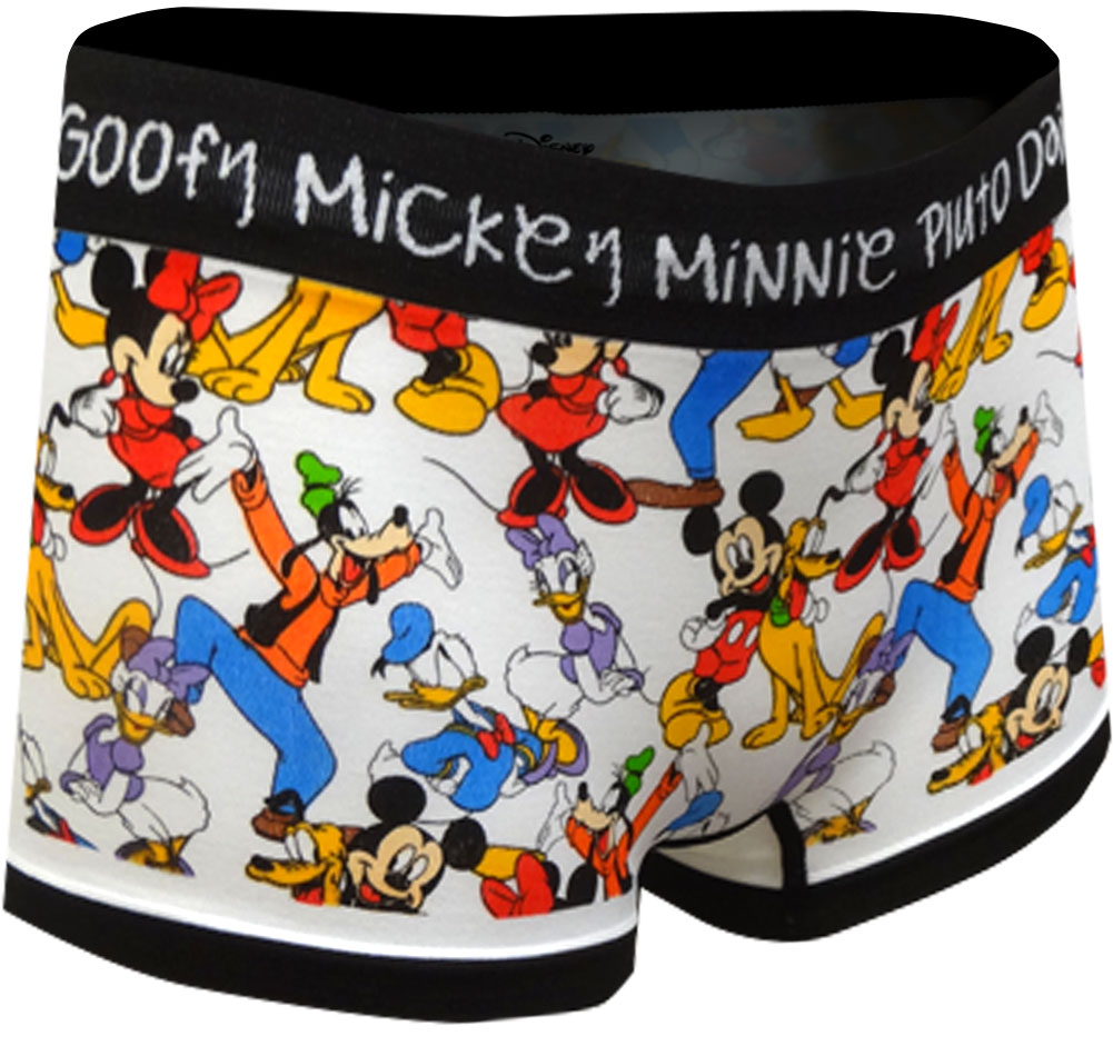 Image of Disney Characters All Star Cast Seamless Boyshort Panty for women