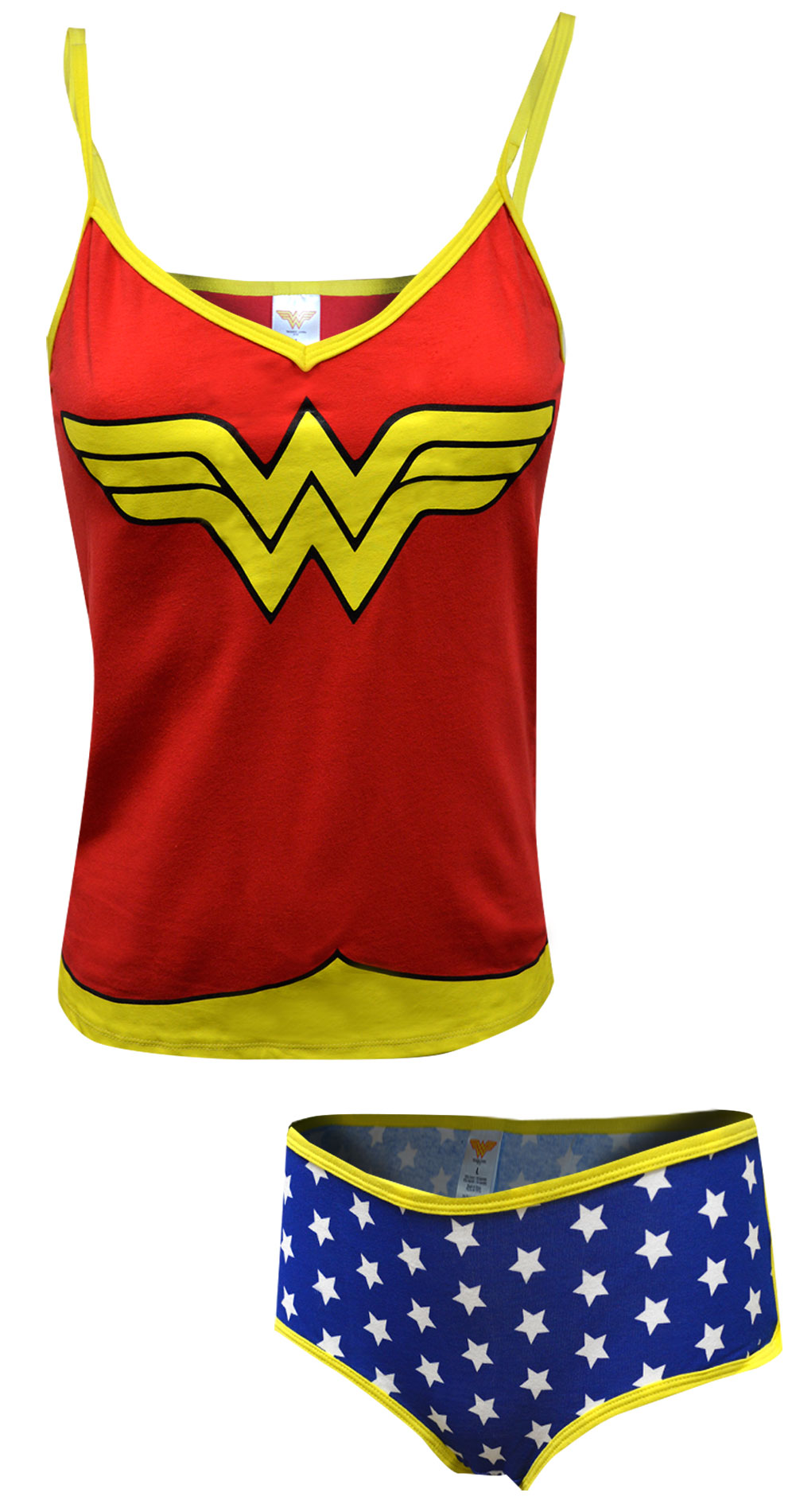 Wonder Woman Cami Panty Set