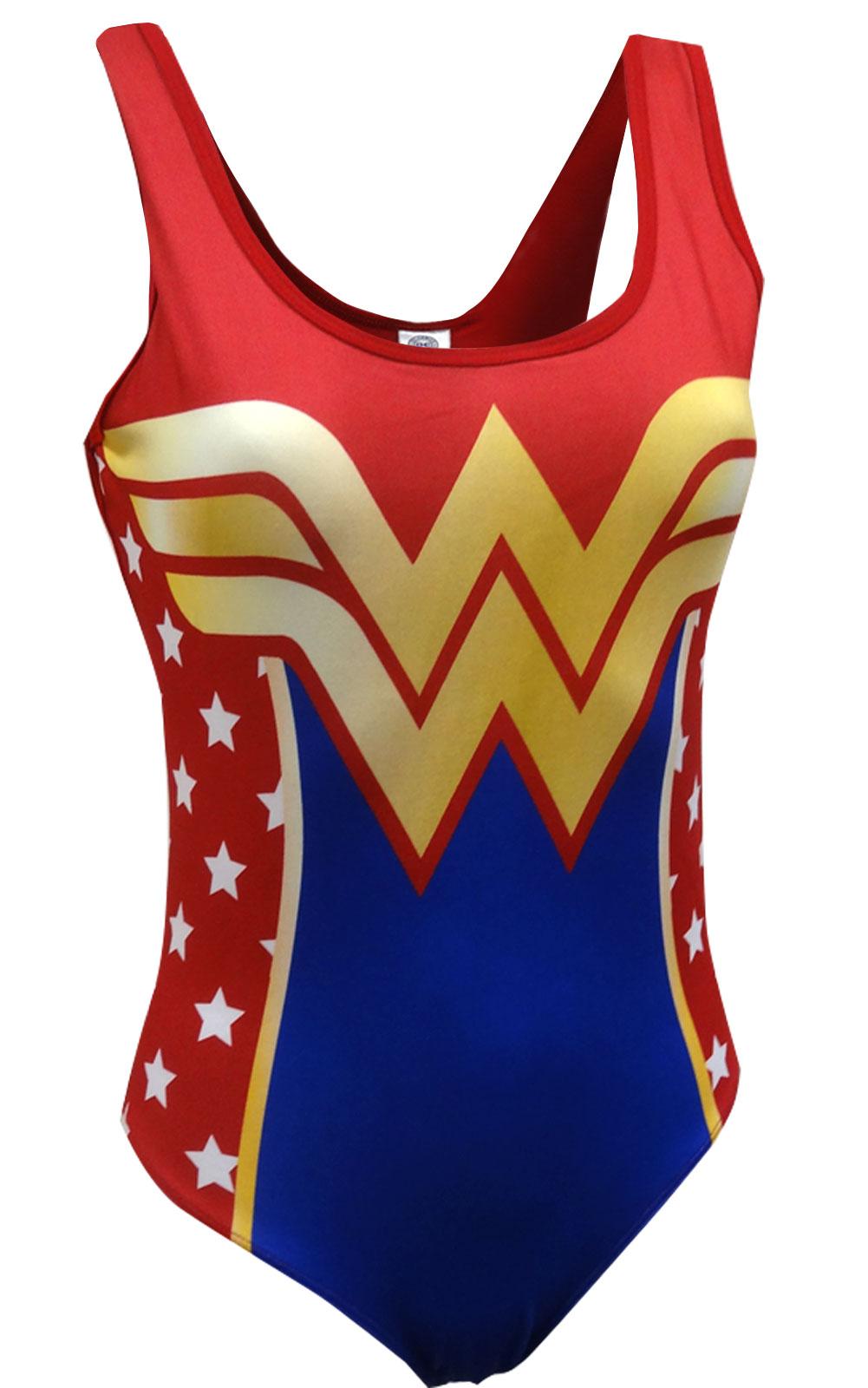 Image of DC Comics Classic Wonder Woman Bodysuit for women