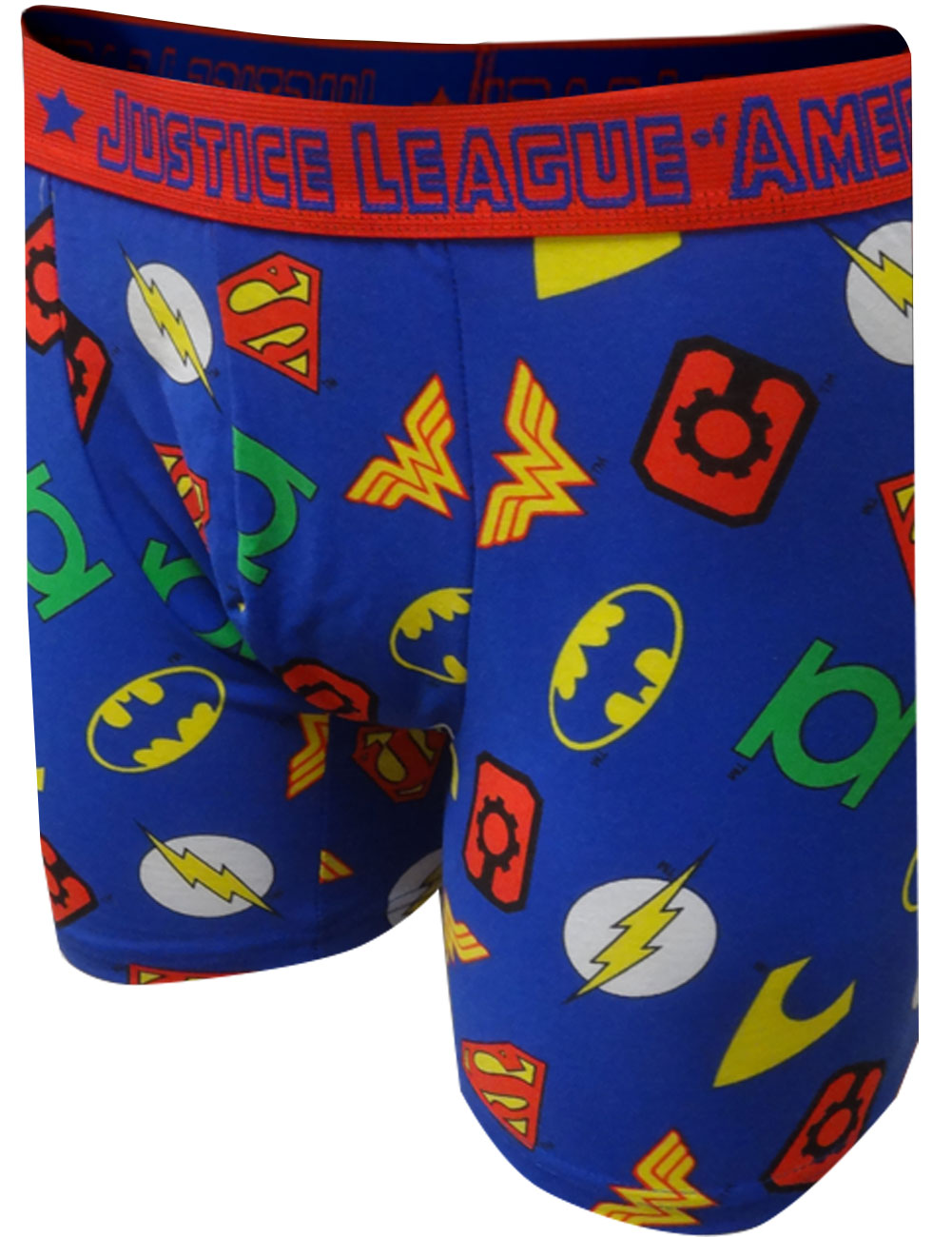Image of DC Comics Justice League Symbols Boxer Brief for men