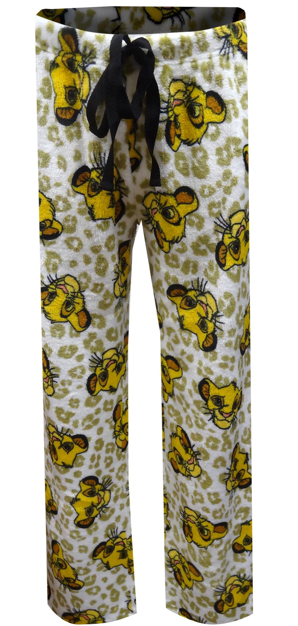 Image of Disney's Lion King Simba Soft Plush Loungepant for women