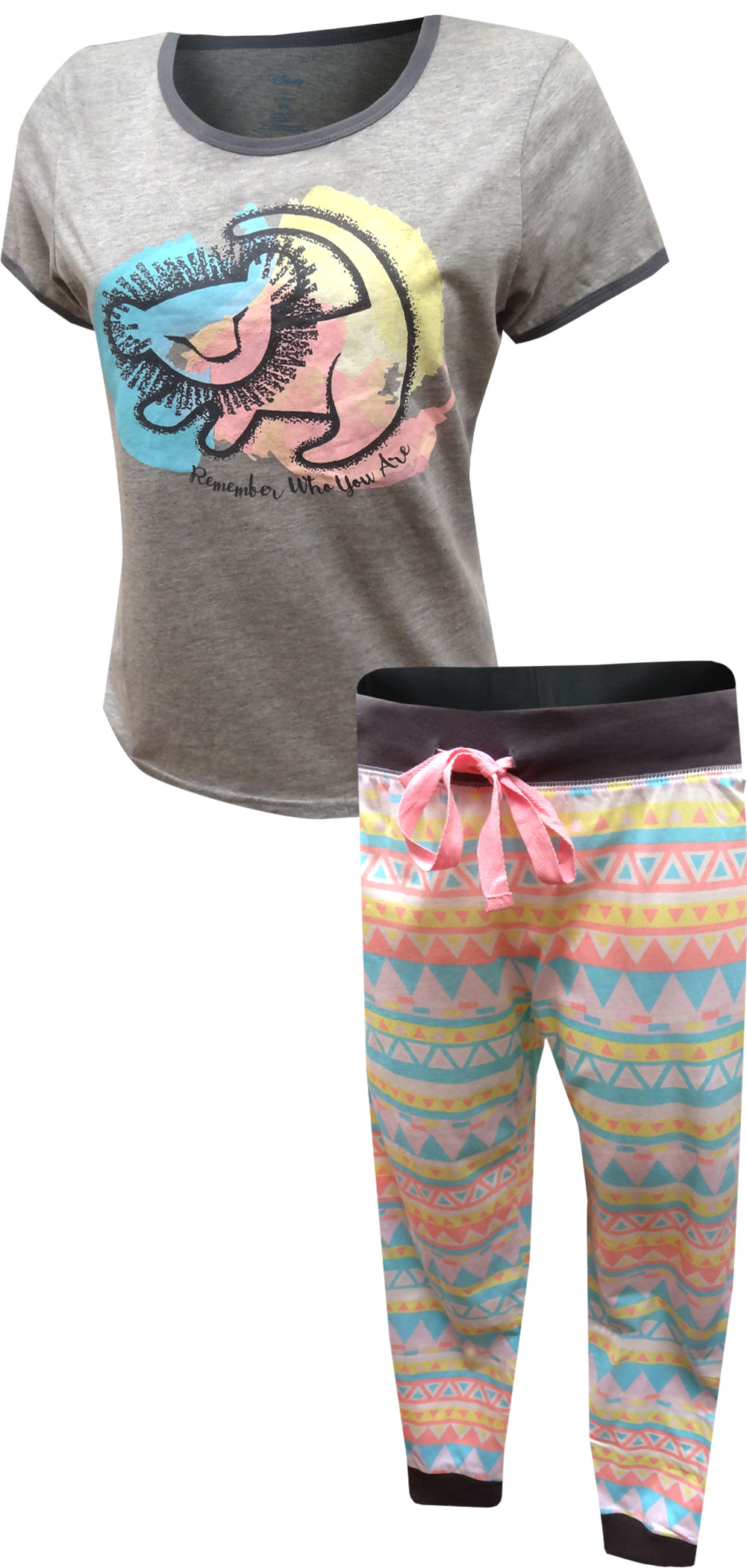 Lion King Remember Who You Are Pastel Jogger Pajama Set