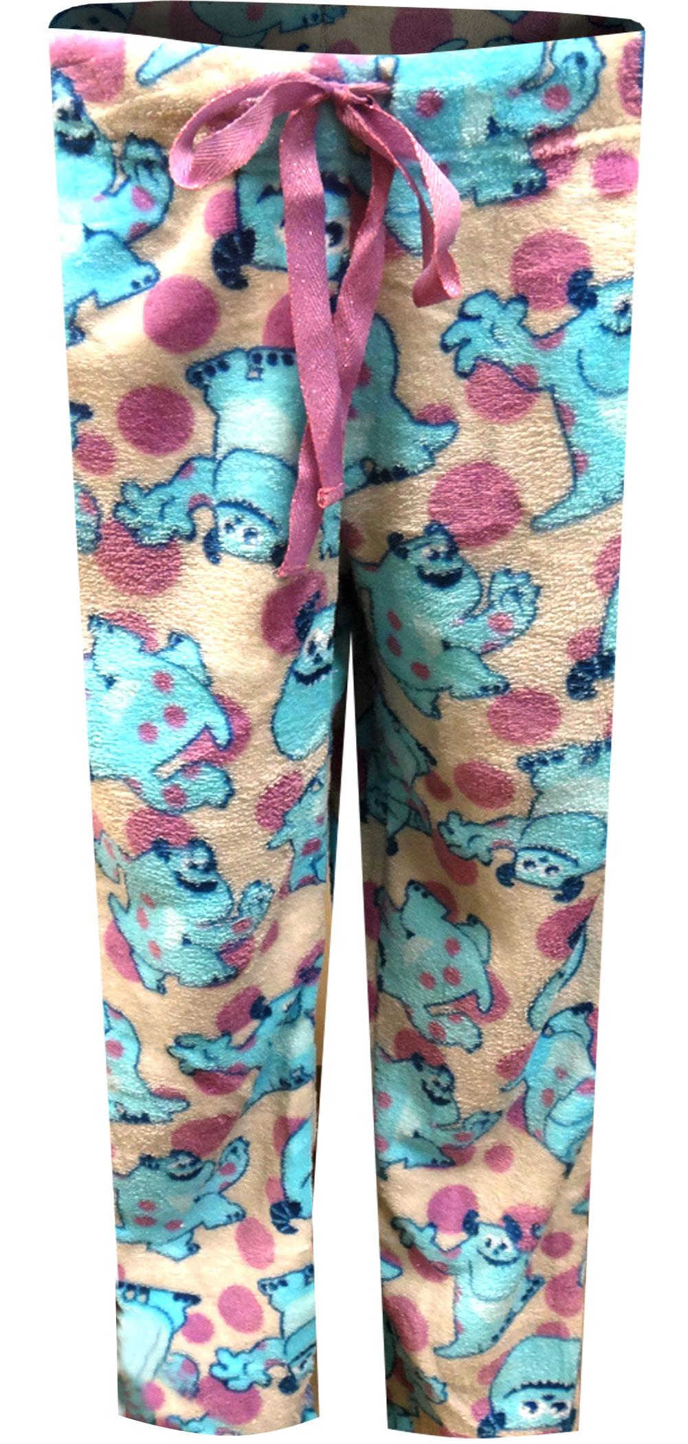 Image of Disney Pixar Monsters Inc Sulley Super Soft Plush Lounge Pants for women