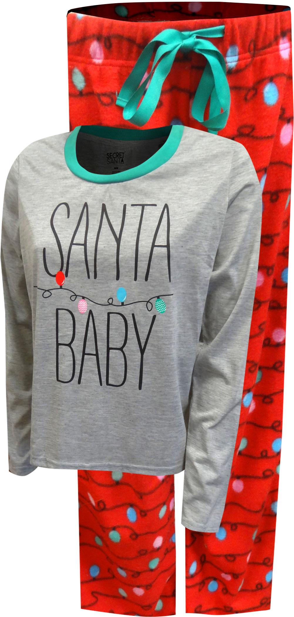 Image of Santa Baby Christmas Pajama for Women