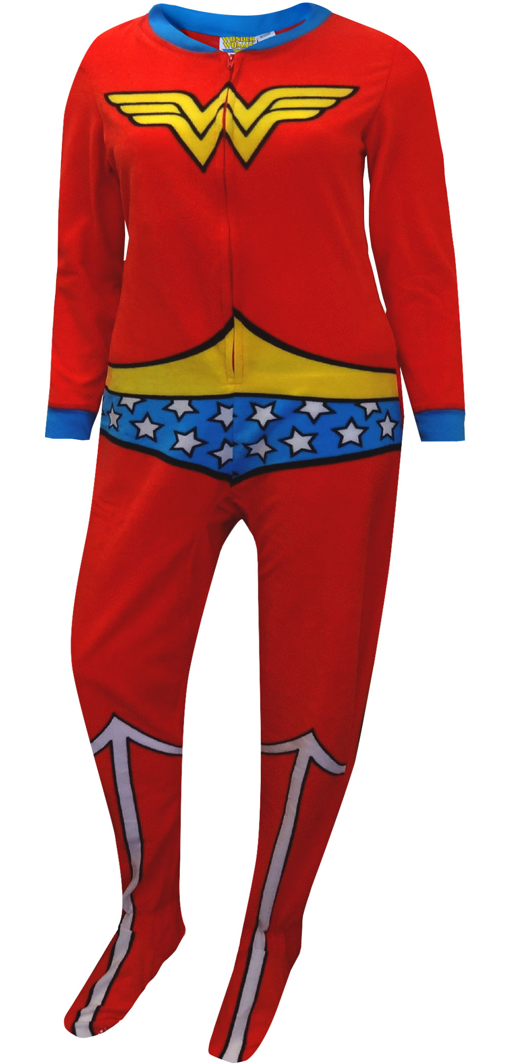 abd762a90 Footie Pajamas for Women- Adult Footed Pajamas