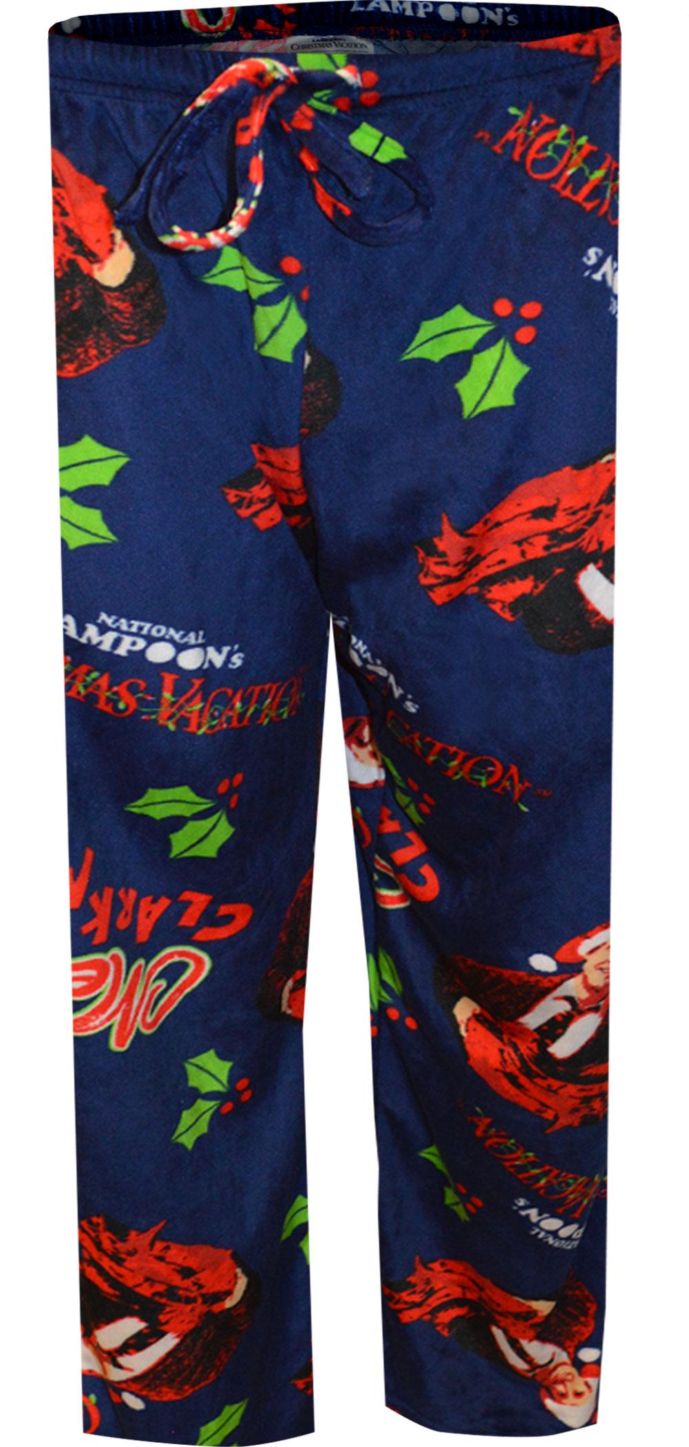 Image of Christmas Vacation Merry Clarkmas Silky Fleece Lounge Pants for men
