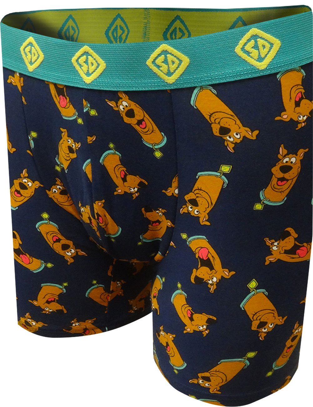 Image of Scooby Doo Heads Print Boxer Briefs for men