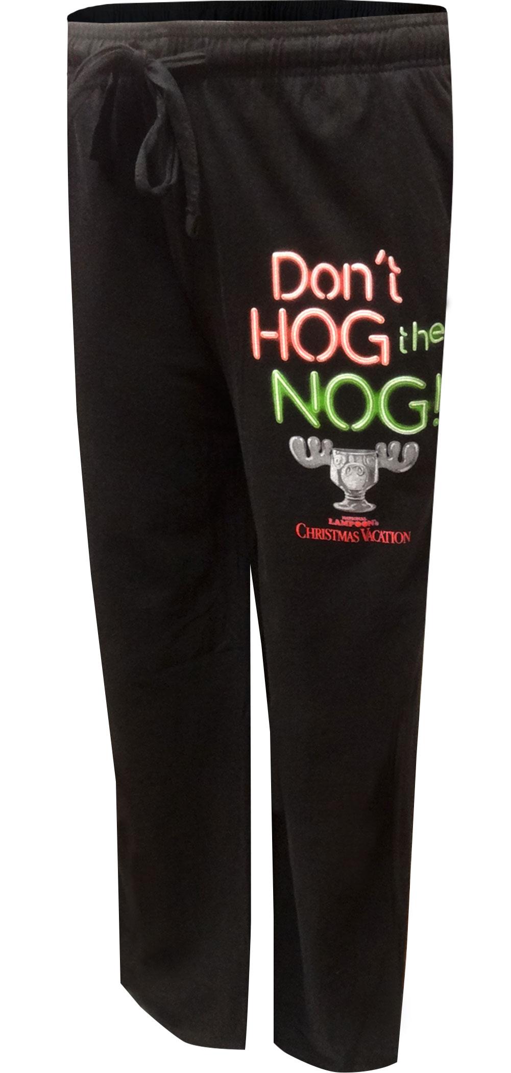 Image of Christmas Vacation Don't Hog The Nog Lounge Pants for men