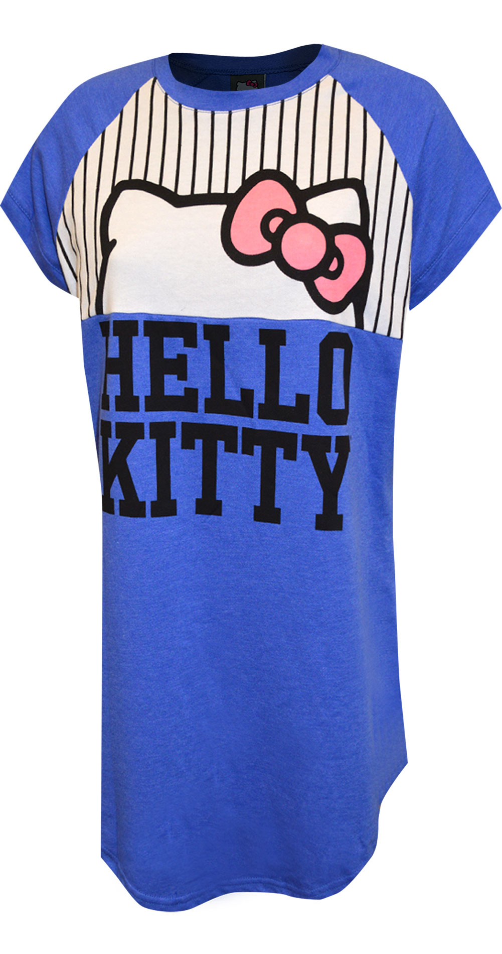 Image of Hello Kitty French Terry Short Night Shirt for women