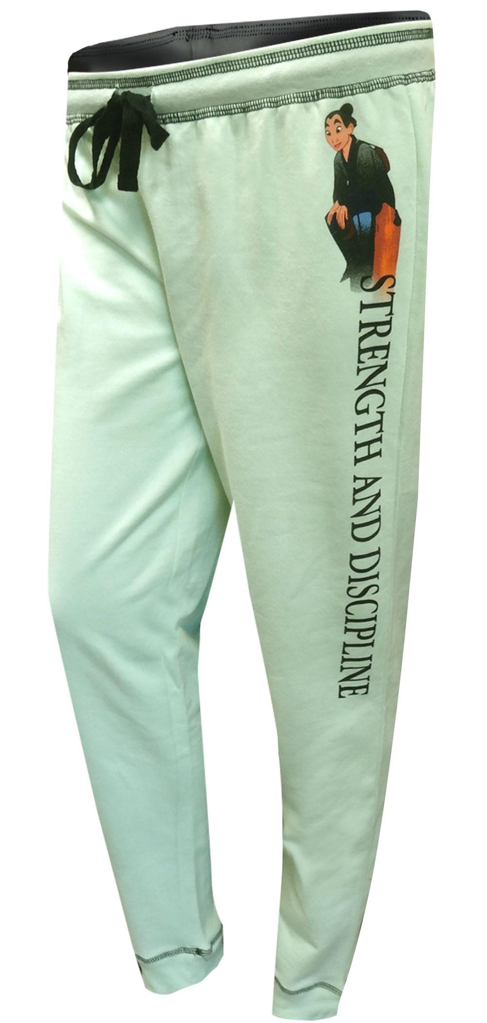 Image of Disney Mulan Strength and Discipline Jogger Lounge Pants for women