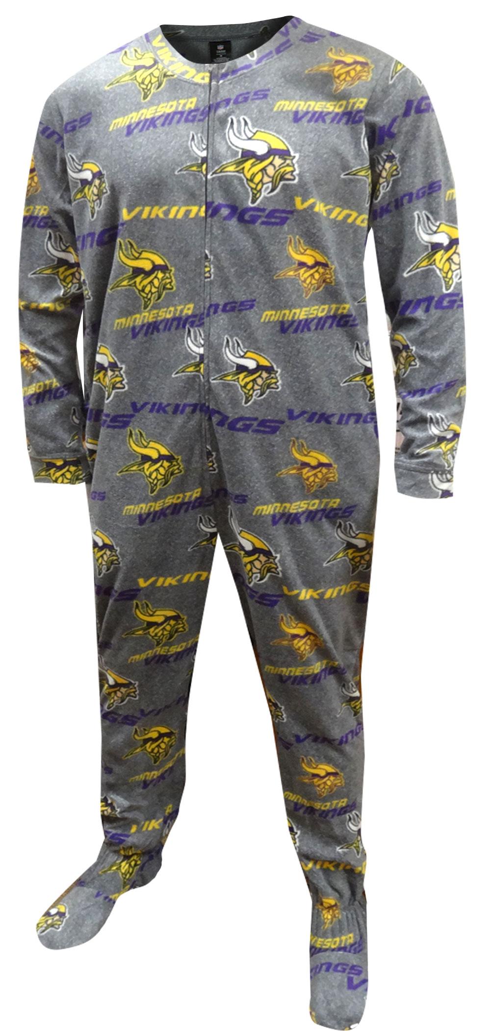 WebUndies.com Minnesota Vikings Onesie Footie Pajama 709133faf