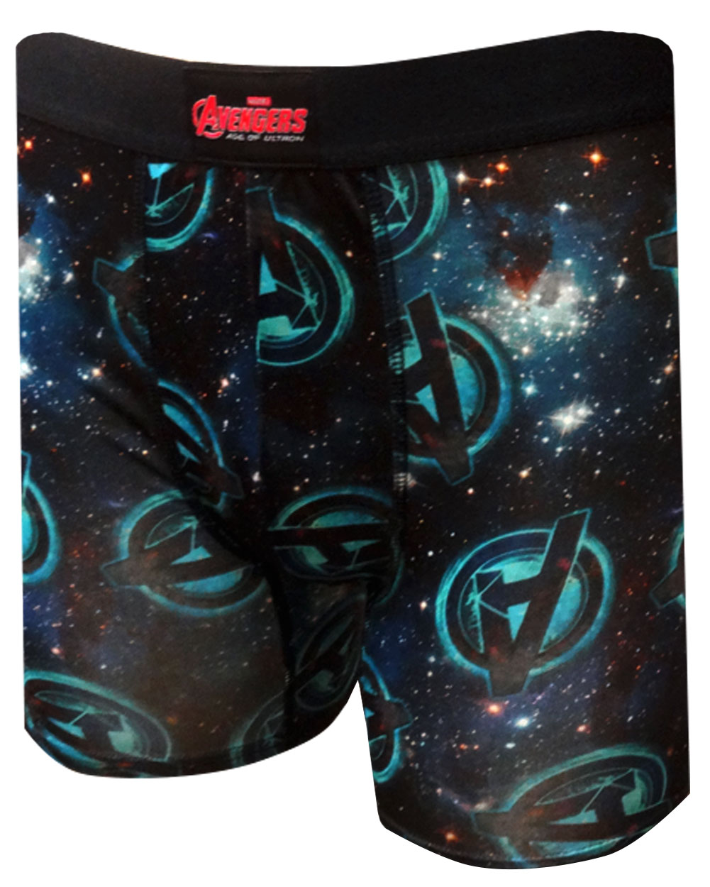 Image of Marvel Comics Avengers Age Of Ultron Logo Performance Wear Boxer Brief for men