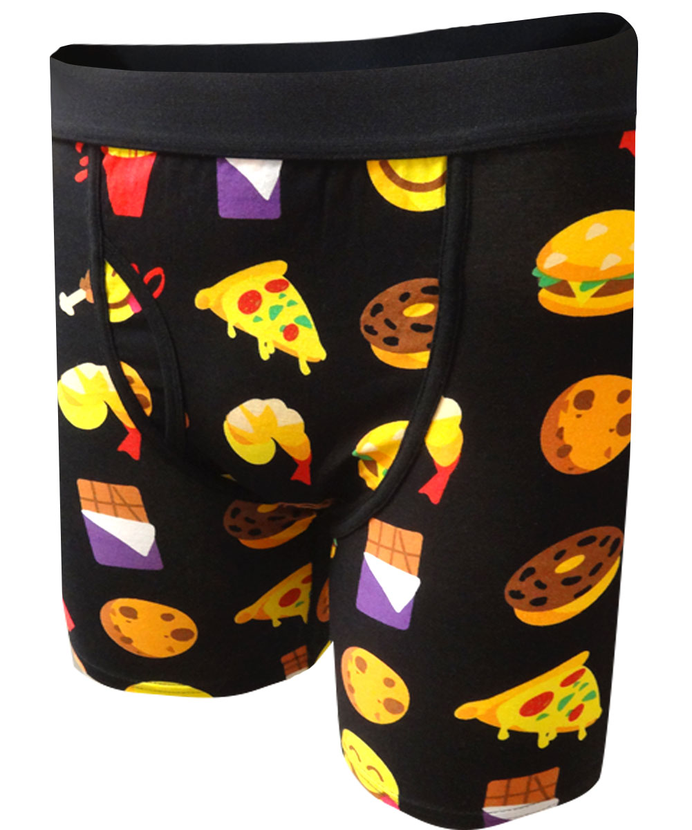 Image of Emoji Snacks Boxer Brief for men