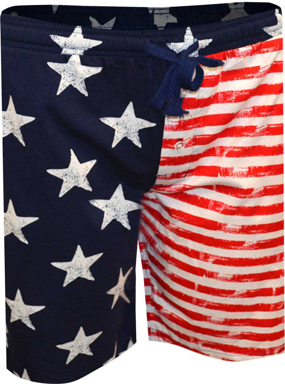 Image of All American Flag Lounge Shorts for men