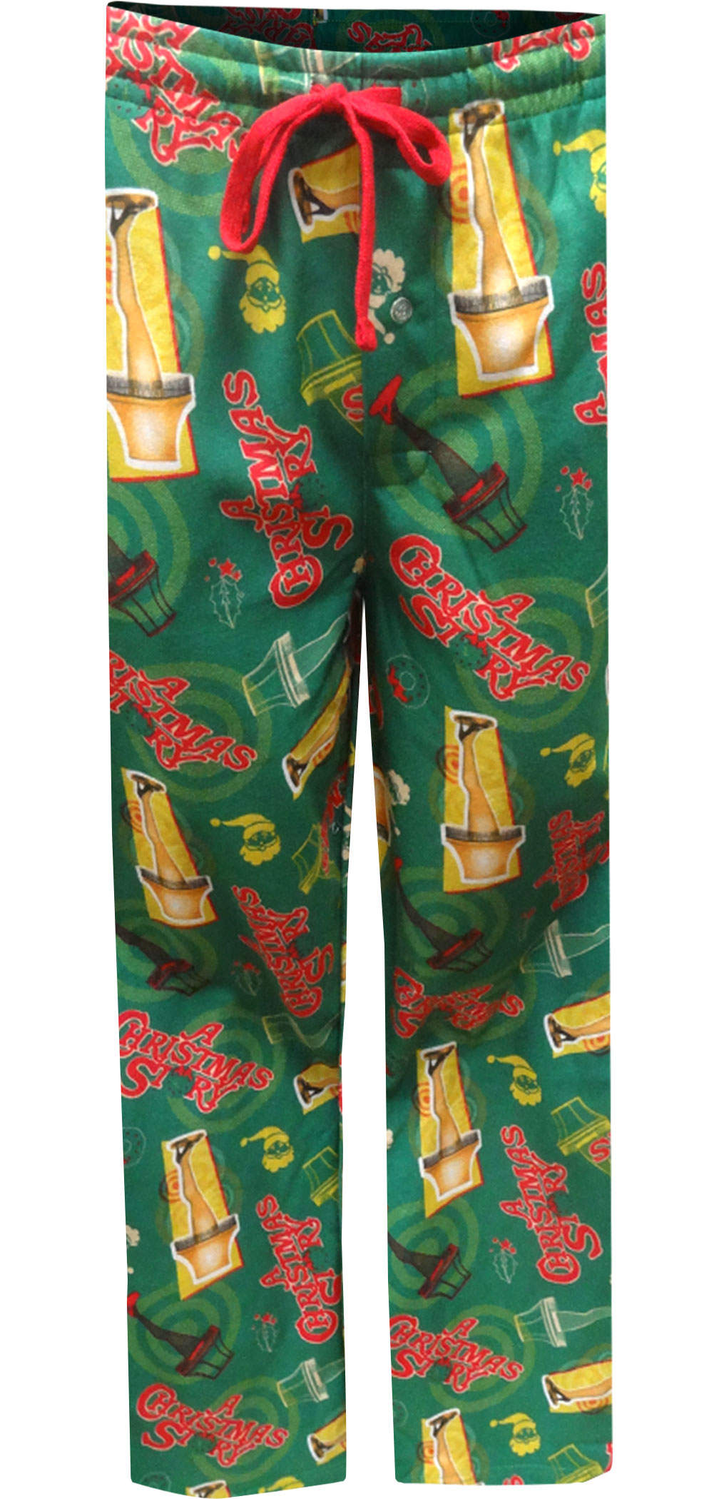 Image of A Christmas Story Leg Lamp Modern Flannel Lounge Pant for men