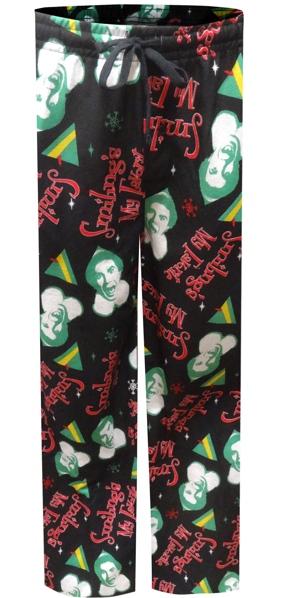 Image of Elf Movie Buddy the Elf Modern Flannel Lounge Pants for men
